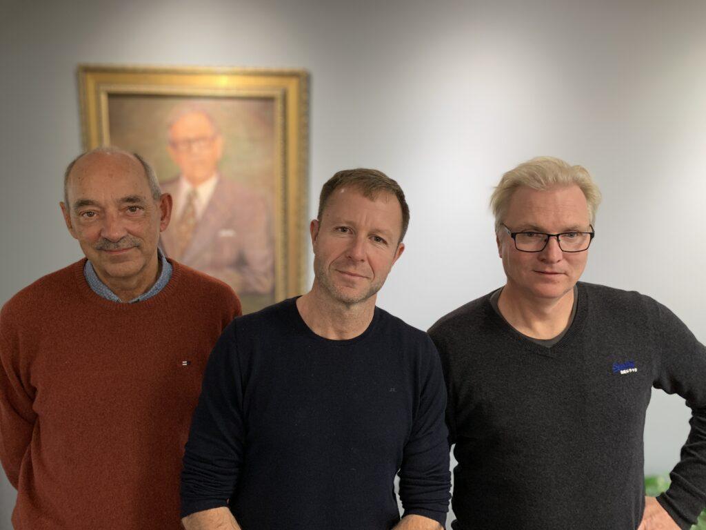 Martin Søndergaard/AU, Kasper Reitzel/SDU og Christian Skov/DTU