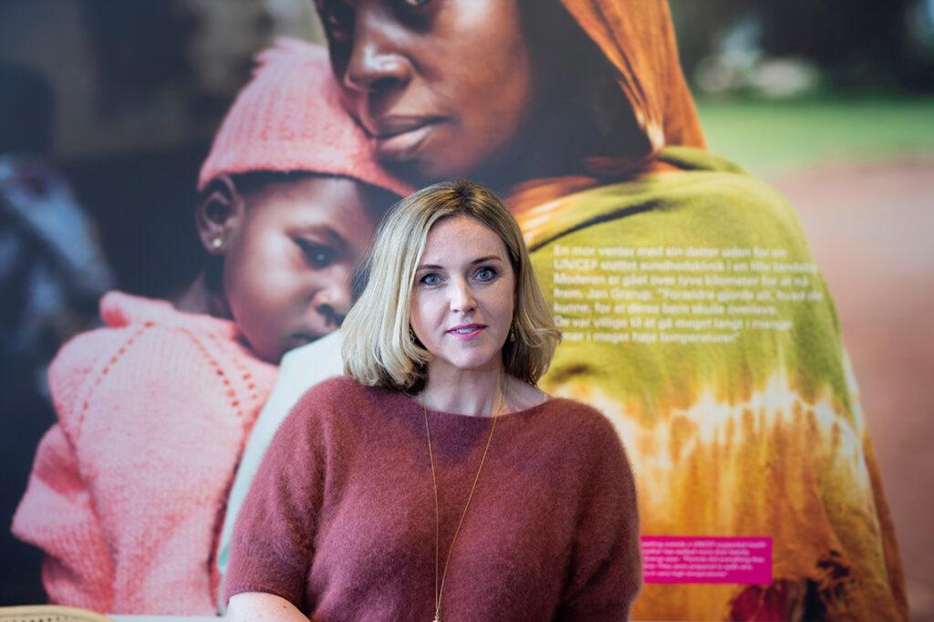 Karen Hækkerup, Generalsekretær i UNICEF Danmark.