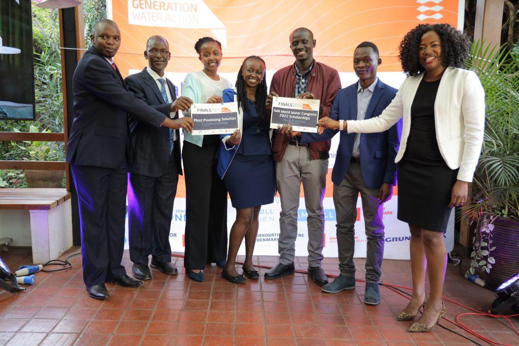 Vinderne af Grundfos Challenge er fra Kenya
