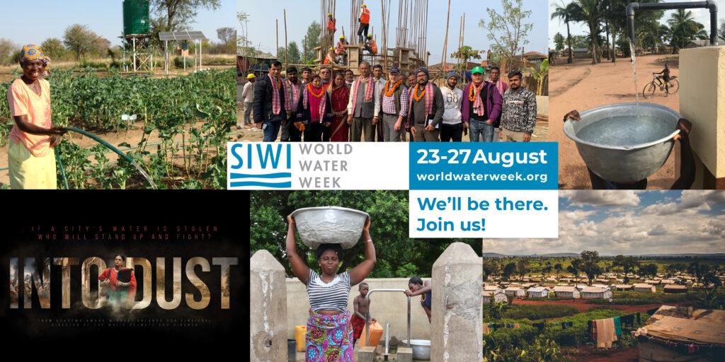 Promo banner World water week 2021